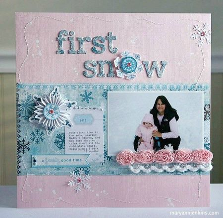 First Snow by Mary Ann Jenkins