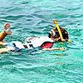 Qu'a-t-il vu en snorkeling ?