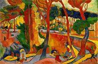 route tournante à l'estaque_1906