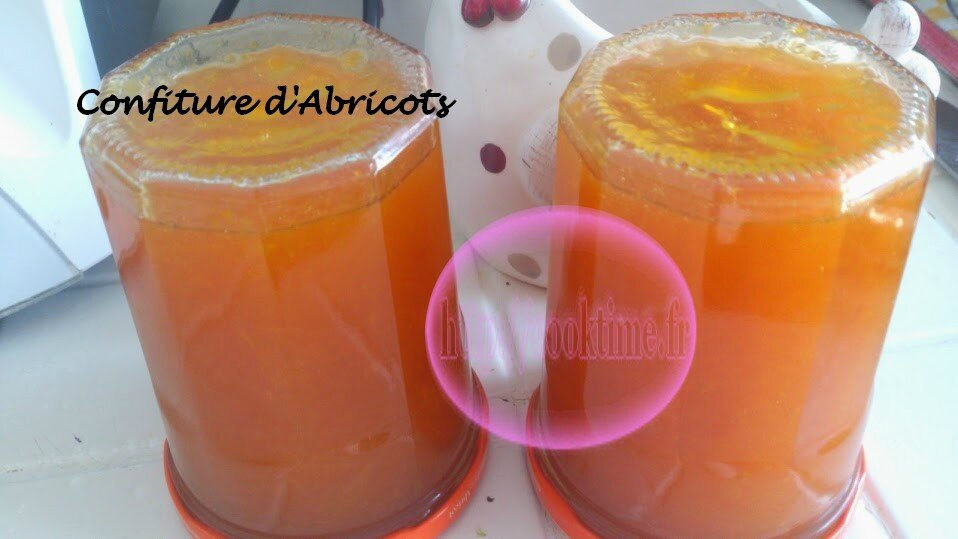 confiture abricot thermomix