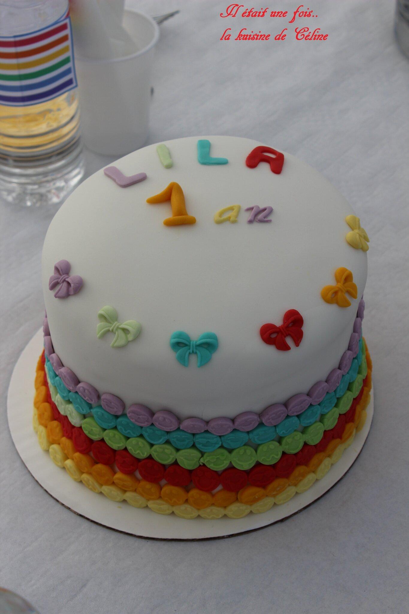 Rainbow Cake Gateau Arc En Ciel Il Etait Une Fois La