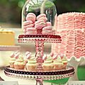 macarons-dessert-rose