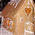 Une maison en pain d'épices, bienvenue chez hansel et gretel...