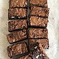 Brownies au chocolat moelleux