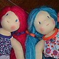 Celles qui seront copines de poupées...