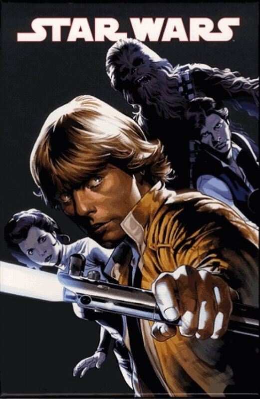 panini absolute star wars 01 skywalker passe à l'attaque