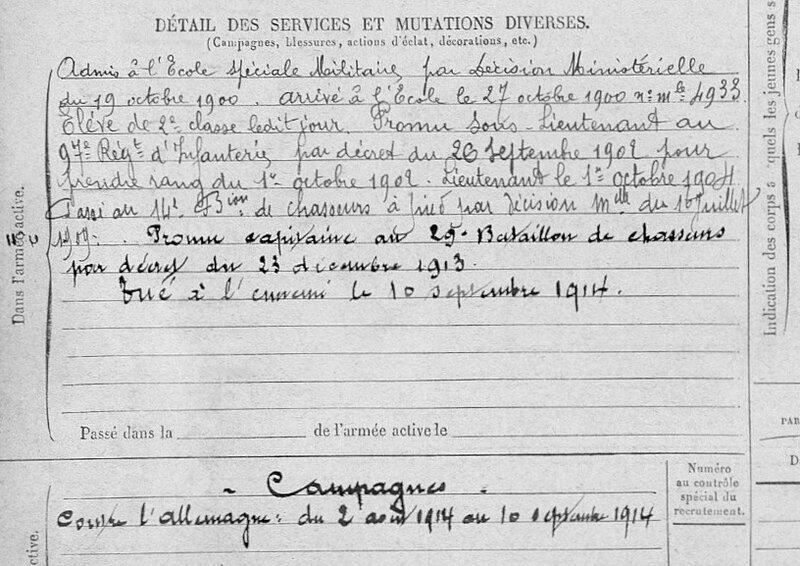 René Jaubert, fiche matricule (2)