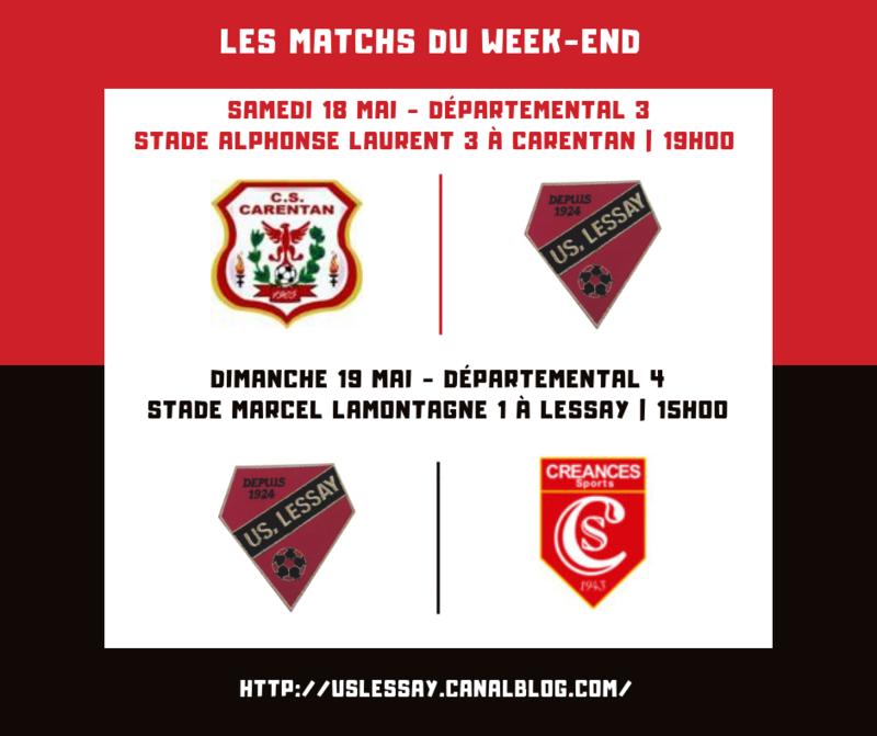Les Matchs du Week-end (17)