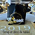 Decoration de table nouvel an 2019