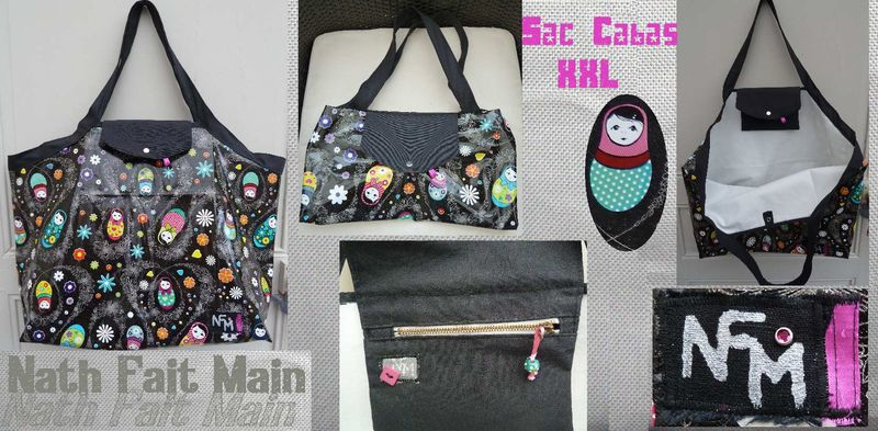 Sac Cabas XXL Matriochkas