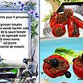 Recette - vidéo tomates farcies plancha a gaz