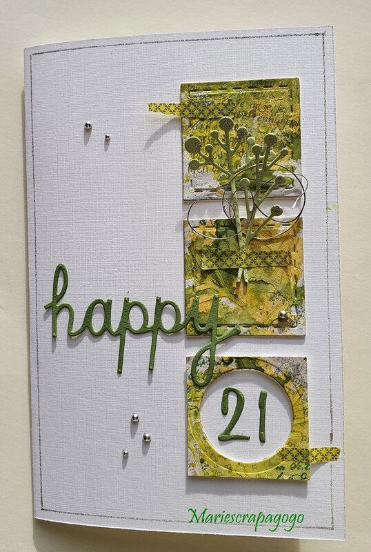 happy 21 scrap&co