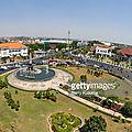 Rond-point à semarang (indonésie)