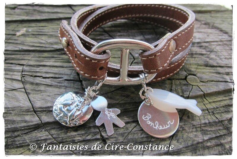 Bracelet Belle-Ile personnalisé-1