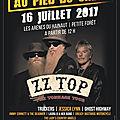 concert zz top 2017