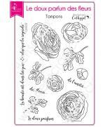 tampon-transparent-scrapbooking-carterie-fleur-le-doux-parfum-des-fleurs