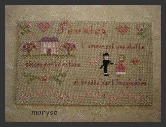 Carte de Maryse