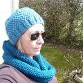 bonnet bleuvert