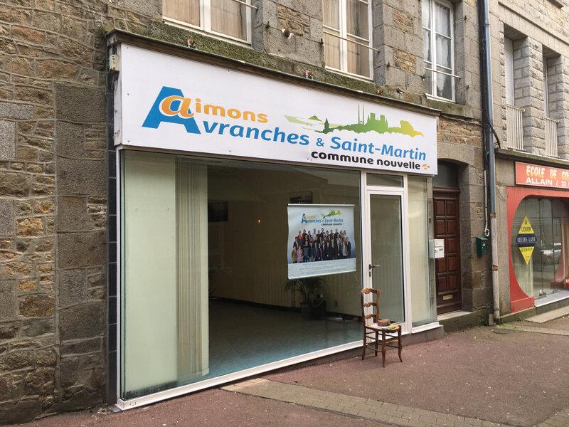 élections_municipales_2020_Avranches_David Nicolas_local_campagne_rue des Fossés