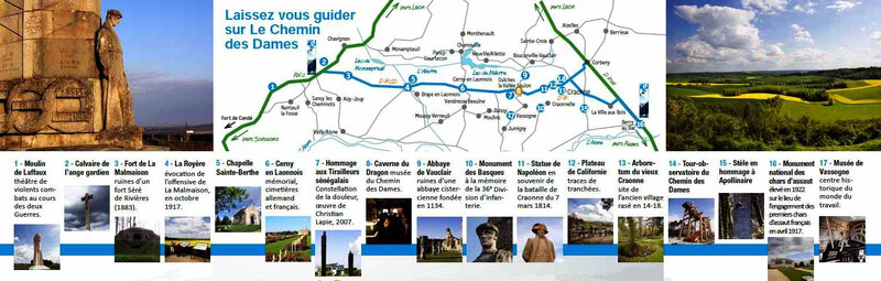 guide chemin des dames