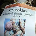 Kits muffins et cookies: 2ème version