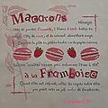 Macarons a la framboise *4*