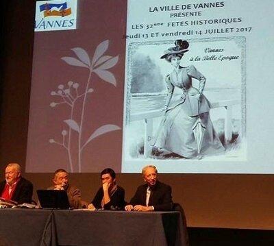 1ère réunion au P.A.C. de Vannes - Fêtes historiques 2017
