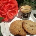 Cookies aux 2 chocolats, noix de pécan et sirop d'érable