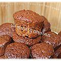 Mini muffins pralinoise