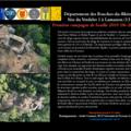 [fouilles] site du verdelet 1 à lamanon (bouches-du-rhône) : première campagne de fouilles - du 6 au 28 avril 2010