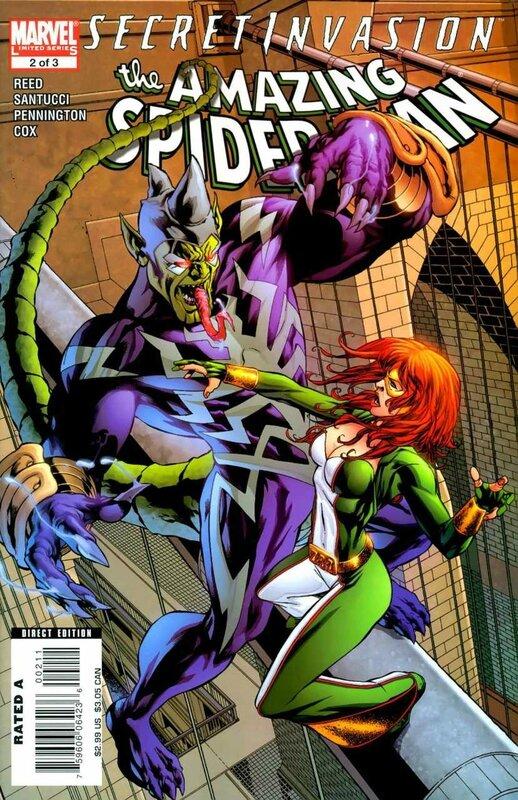 secret invasion amazing spiderman 2