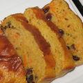 Cake d'hiver: carottes & raisins secs