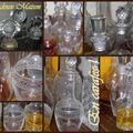 carafes cristal et verre