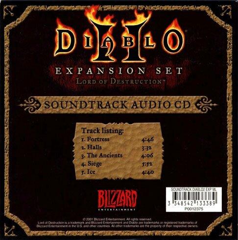 Diablo II Lord Of Destruction 3) Back