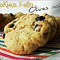 Cookies feta - olives noires