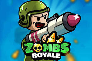 Jeu Zombs royale IO