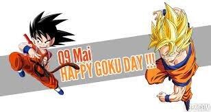 """Le 09 Mai devient officiellement le """"Goku Day"""" au Japon"""