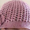 Mon bonnet à la rose