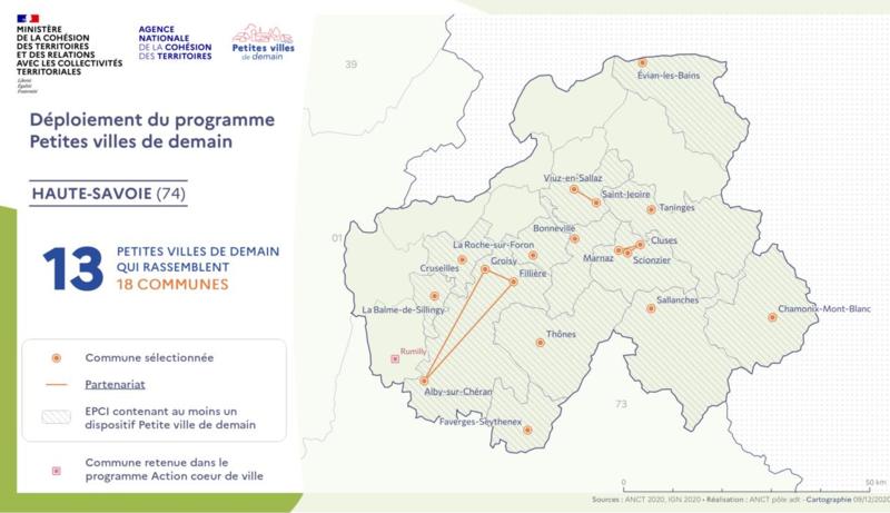 petites villes de demain Haute Savoie 2020