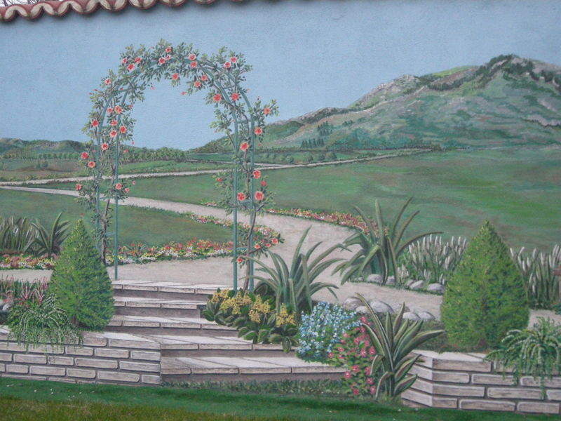Trompe l\'oeil : Illusion de jardin - Album photos - Victoria-Rose ...