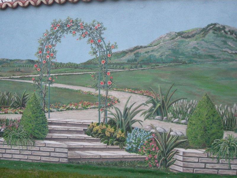 Trompe l\'oeil : Illusion de jardin - Album photos - Victoria-Rose ...