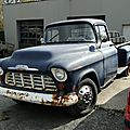 Chevrolet 3200 stepside pickup-1956