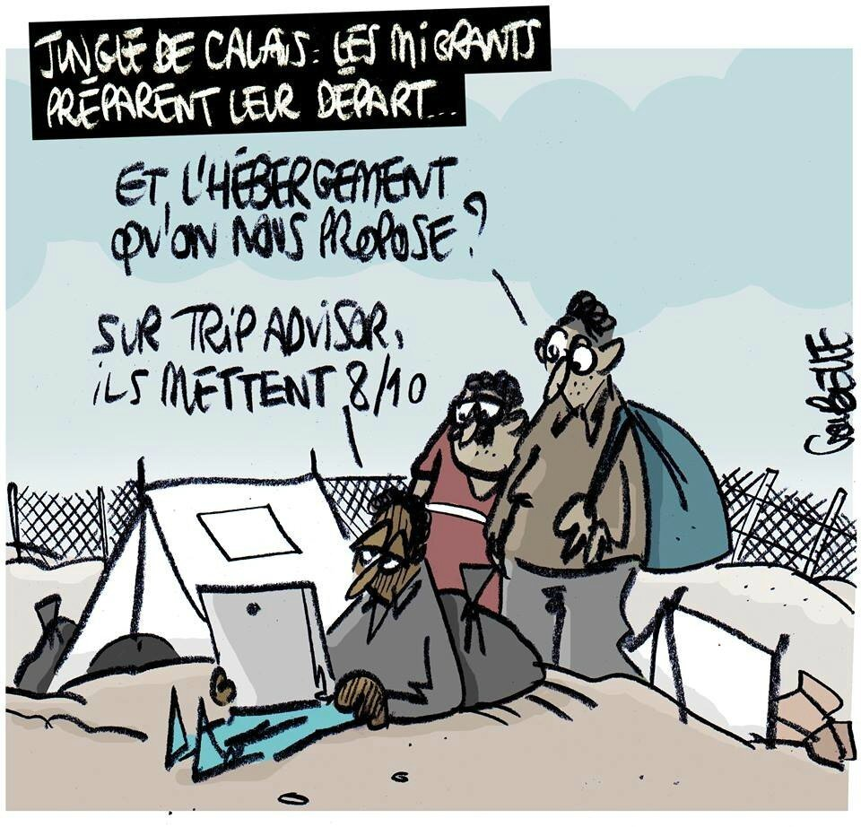 ps holalnde humour calais immigration metastase