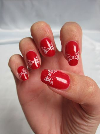 nail art minnie mouse (3)
