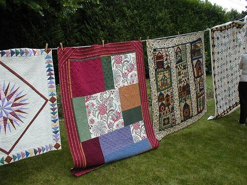 Quilting bee au jardin