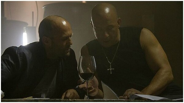 les coulisses de Fast-and-Furious-7 -Vin_diesel et Jason Statham