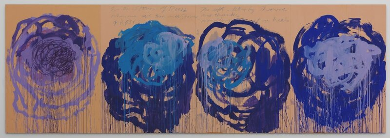 Cy Twombly_Untitled (Roses), 2008