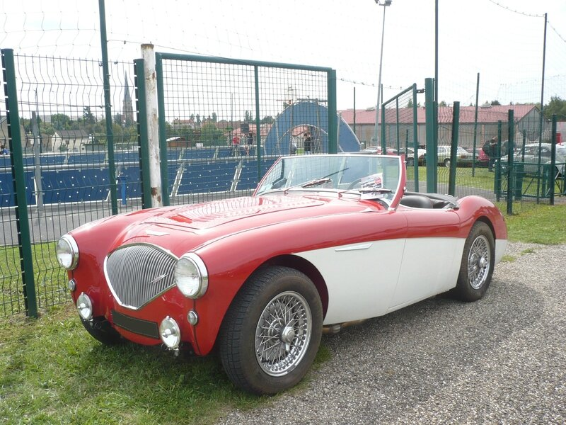 AUSTIN HEALEY 100 roadster Hambach (1)