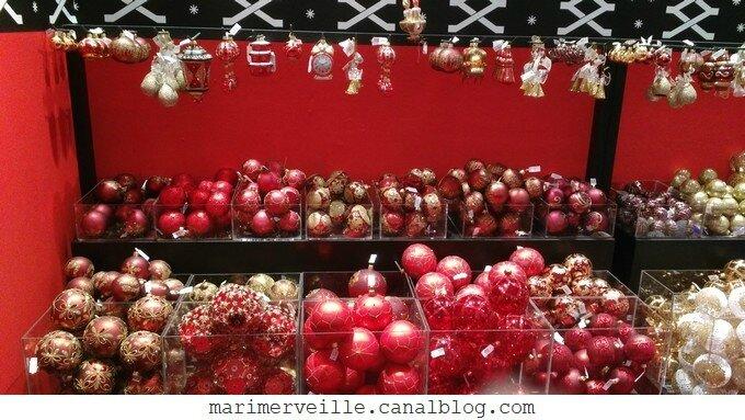 Décoration arbre de Noël chateau enchanté20- marimerveille