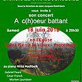 Concert du 18 juin 2016 de la chorale strasbourgeoise